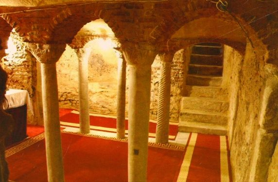 Iglesia de San Sergio y Baco, barrio copto de El Cairo (Viaje Iniciático a Egipto)